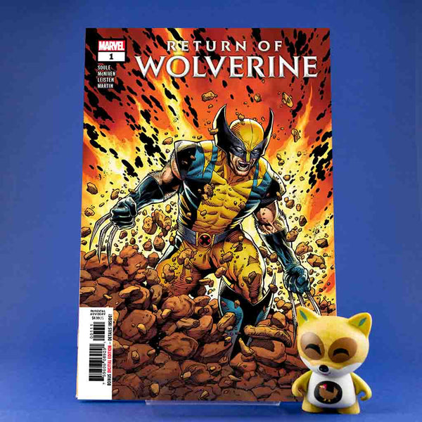 Return of wolverine #1 - #5 | Previews | Tienda online comics | Wash Cómics