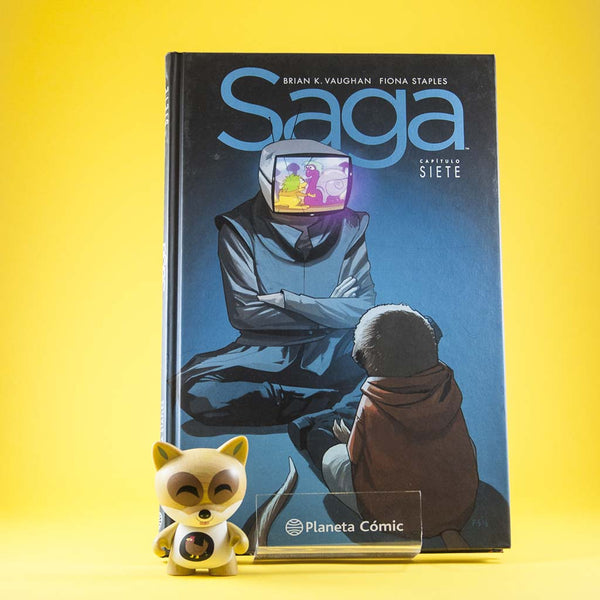 Saga Vol. 7 | Americano | Wash Cómics