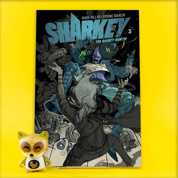 SHARKEY BOUNTY HUNTER #3 (OF 6) CVR A BIANCHI (MR) | Previews · Regular Covers | Wash Cómics