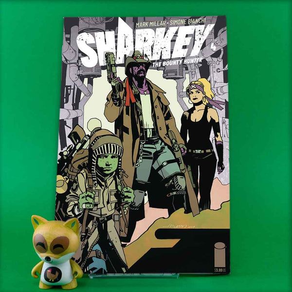 SHARKEY BOUNTY HUNTER #4 (OF 6) CVR C LEON (MR) | Previews · Variant Covers | Wash Cómics
