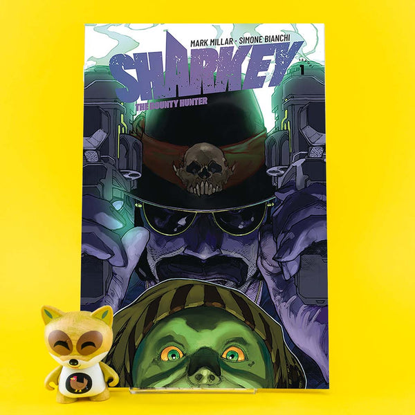 Sharkey Bounty Hunter #1 (of 6) | Previews · Regular Covers | Wash Cómics