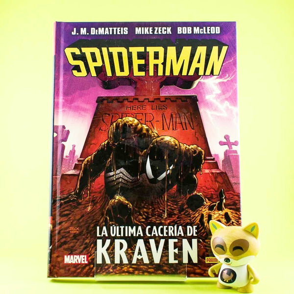 Cómic Spiderman: La última cacería de Kraven de SD DISTRIBUCIONES | Wash Cómics