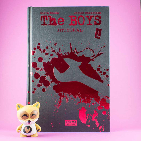 Cómic The Boys Integral Vol. 1 de AZETA DISTRIBUCIONES | Wash Cómics