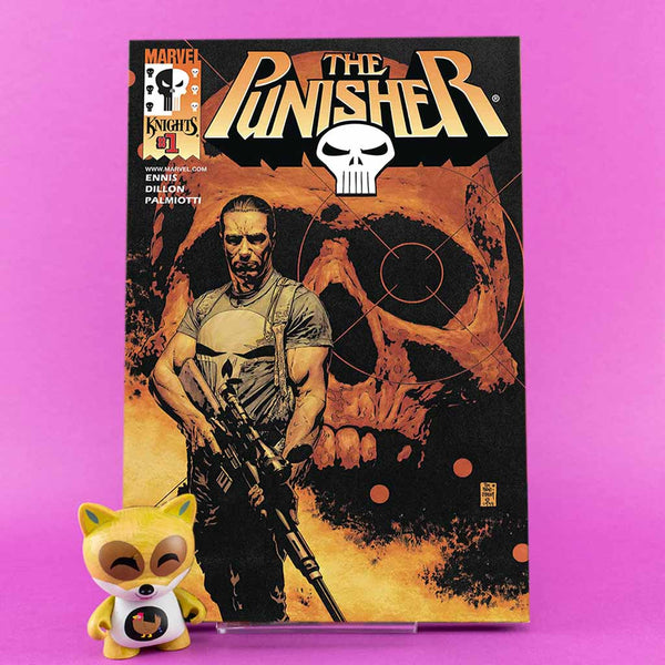 True Believers | Punisher by Ennis & Dillon #1 | Previews · One Shoot Issues | Wash Cómics