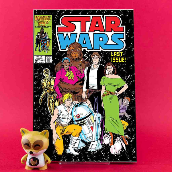 True Believers | Star Wars Original Marvel Years #107 | Previews · One Shoot Issues | Wash Cómics