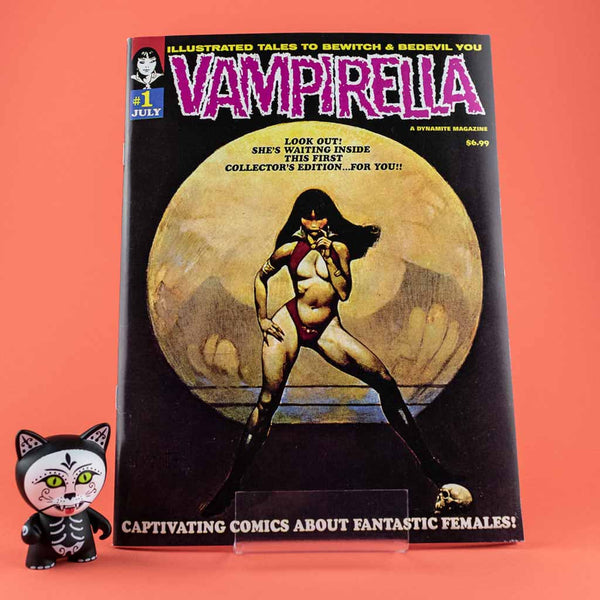 VAMPIRELLA #1 1969 REPLICA ED | Previews · One Shoot Issues | Wash Cómics
