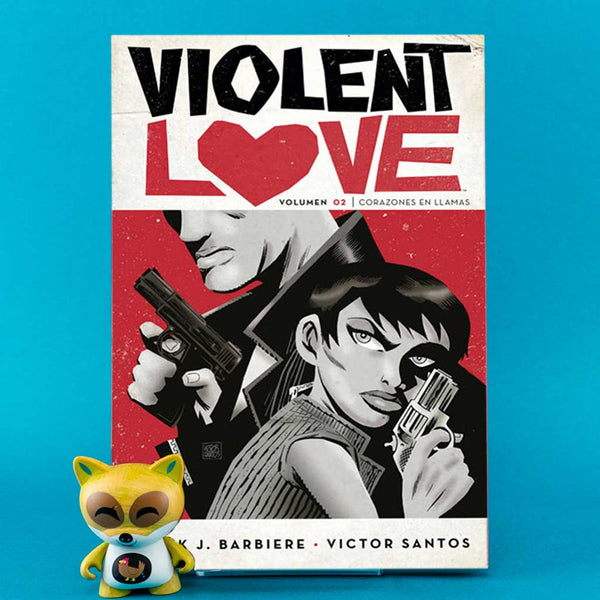 Cómic Violent Love 2: Corazones en llamas de AZETA DISTRIBUCIONES | Wash Cómics