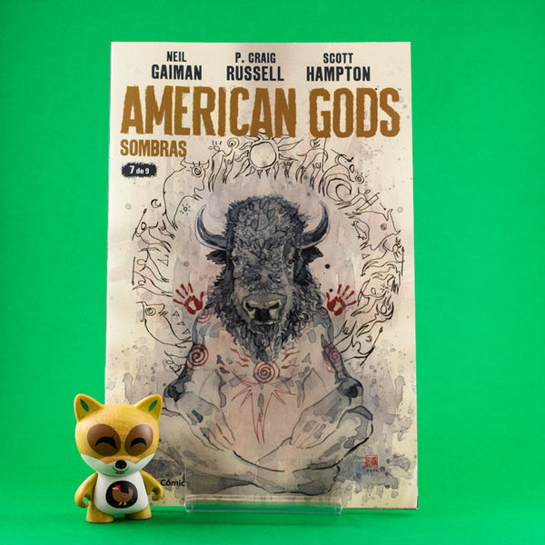 Cómic American Gods Vol. 1 | 7/9 de PLANETA | Wash Cómics