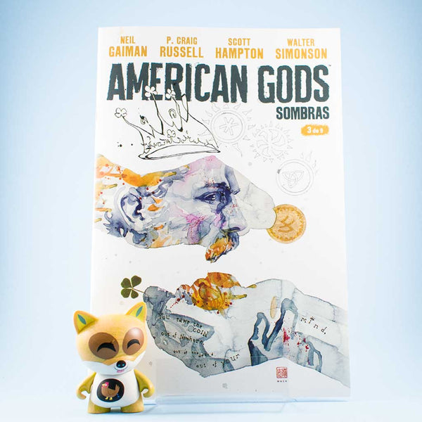 Cómic American Gods Vol. 1 | 3/9 de PLANETA | Wash Cómics