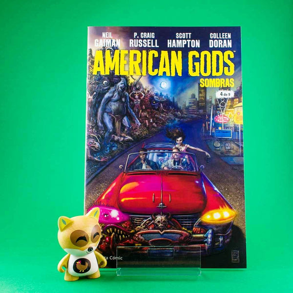 Cómic American Gods Vol. 1 | 4/9 de PLANETA | Wash Cómics