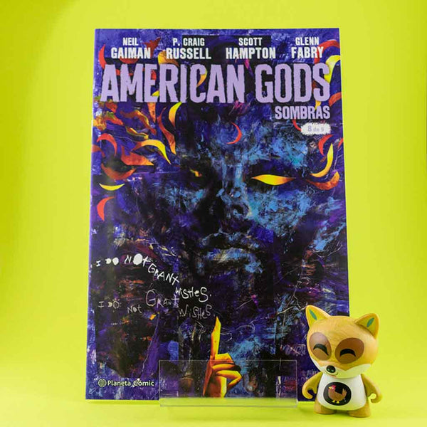 Cómic American Gods Vol. 1 | 8/9 de PLANETA | Wash Cómics