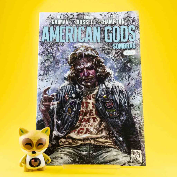 Cómic American Gods Vol. 1 | 9/9 de PLANETA | Wash Cómics