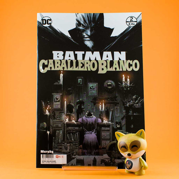 Cómic Batman Caballero Blanco 2/8 de ECC | Wash Cómics