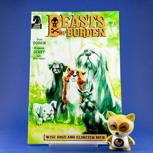 Beasts of Burden: Wise Dog and Eldritch Men #1 - #4 | Variant Cover | Previews | Tienda online comics | Wash Cómics