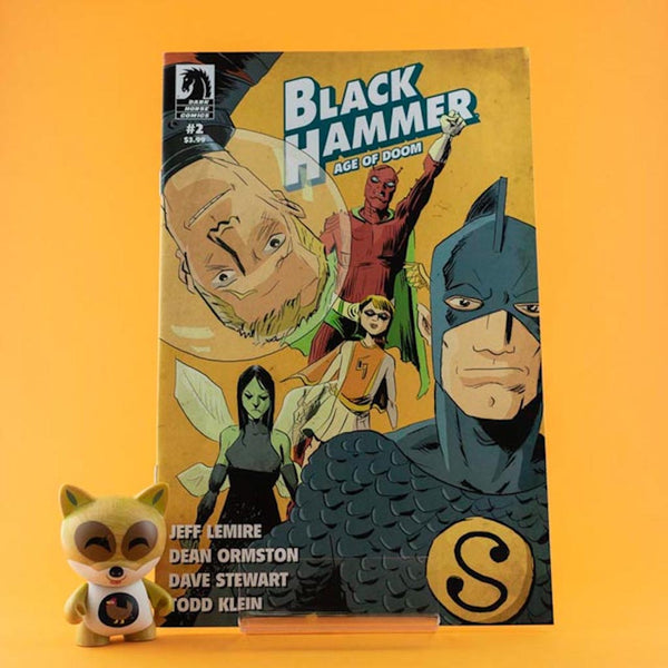 Black Hammer: Age of Doom #2 | Jeff Lemire Cover | Previews | Wash Cómics