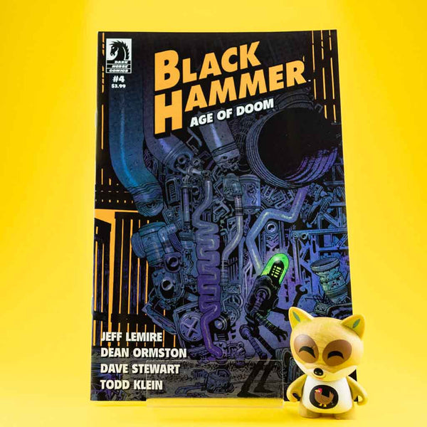 Black Hammer: Age of Doom #4 | James Harren Cover | Previews · Variant Covers | Wash Cómics