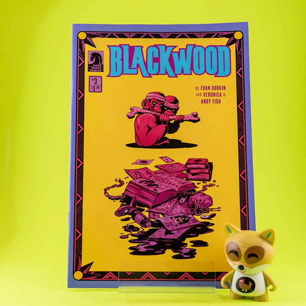 Cómic BlackWood #3 de SD DISTRIBUCIONES | Wash Cómics