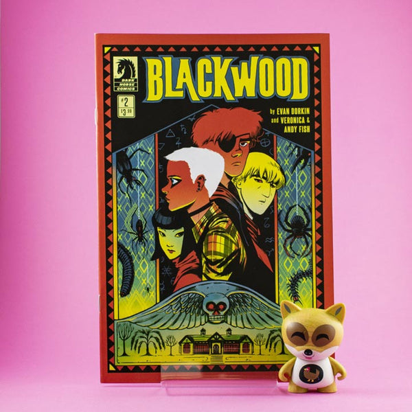 Cómic BlackWood #2 de SD DISTRIBUCIONES | Wash Cómics