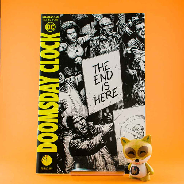 Cómic Doomsday Clock #1 (of 12) | 2nd Printing by Gary Frank de SD DISTRIBUCIONES | Wash Cómics