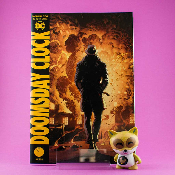DOOMSDAY CLOCK #4 (OF 12) VAR ED | Previews · Variant Covers | Wash Cómics