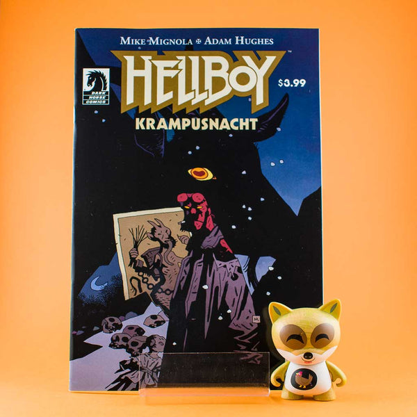 Cómic Hellboy: Krampusnacht | Mike Mignola Variant Cover de SD DISTRIBUCIONES | Wash Cómics