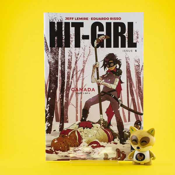 Hit-Girl #5 - #8 | Hit-Girl in Canada | Variant Cover | Previews | Tienda online comics | Wash Cómics