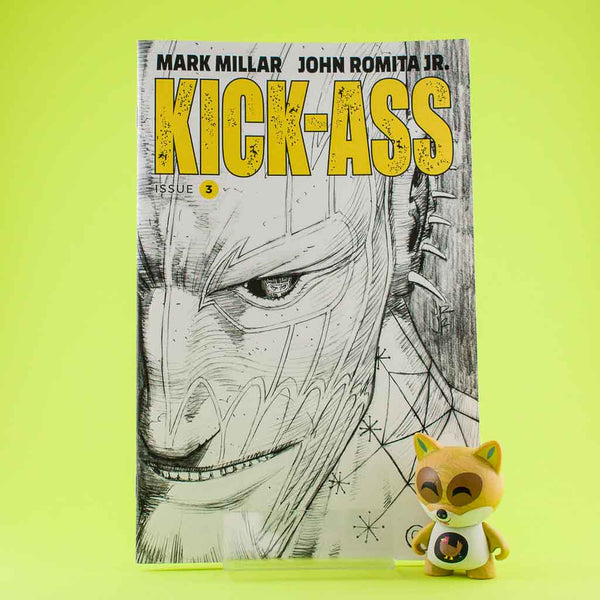 Kick Ass #3 | Cover B B&W Romita | Previews | Wash Cómics
