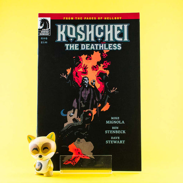 Koshchei The Deathless #4 of 6 | Previews | Wash Cómics