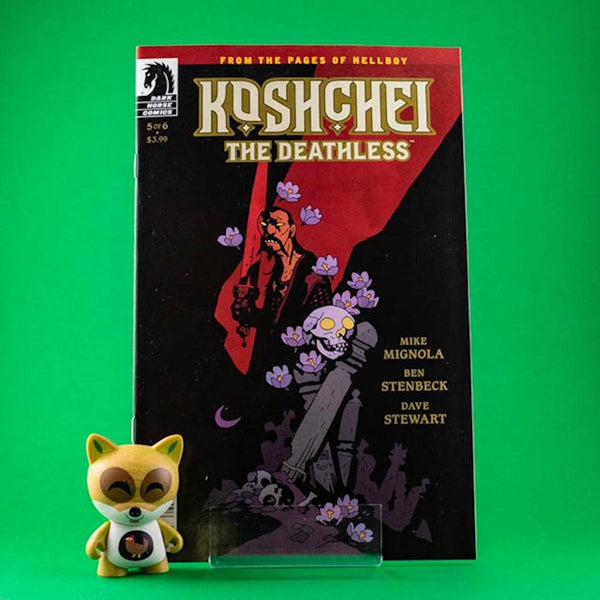 Koshchei The Deathless #5 of 6 | Previews | Wash Cómics