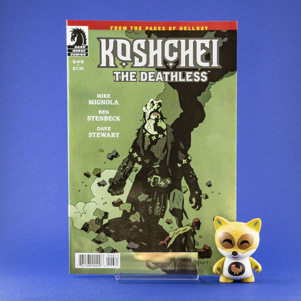 Koshchei The Deathless #6 of 6 | Previews | Wash Cómics