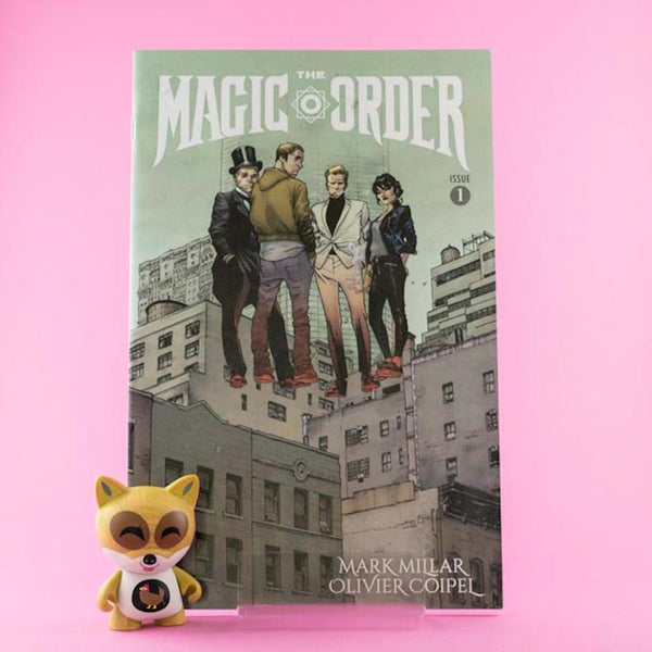 Cómic The Magic Order 1 of 6 | Cómic en inglés de SD DISTRIBUCIONES | Wash Cómics