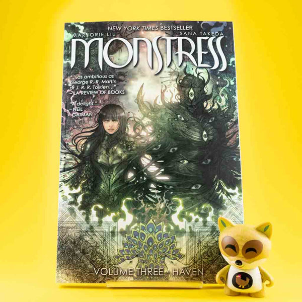Monstress Vol. 3: Haven | Previews · Tomos | Wash Cómics