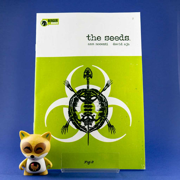 Cómic The Seeds #2 de SD DISTRIBUCIONES | Wash Cómics