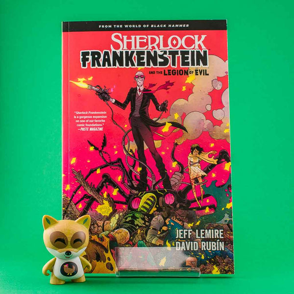SHERLOCK FRANKENSTEIN LEGION OF EVIL FROM BLACK HAMMER TP | Previews · Tomos | Wash Cómics