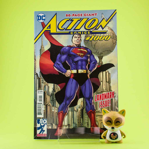 Cómic Action Comics 1000 | Cómic en inglés de SD DISTRIBUCIONES | Wash Cómics
