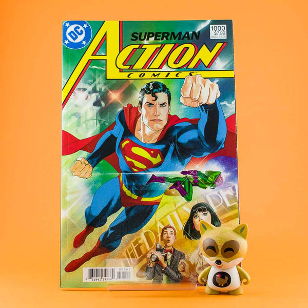 Action Comics #1000 | 1980s Cover by Dan Jurgens | Previews · One Shoot Issues | Wash Cómics