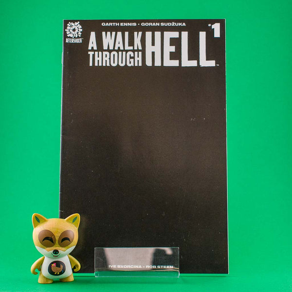 A Walk Through Hell #1 | Black Cover | Previews · Variant Covers | Wash Cómics