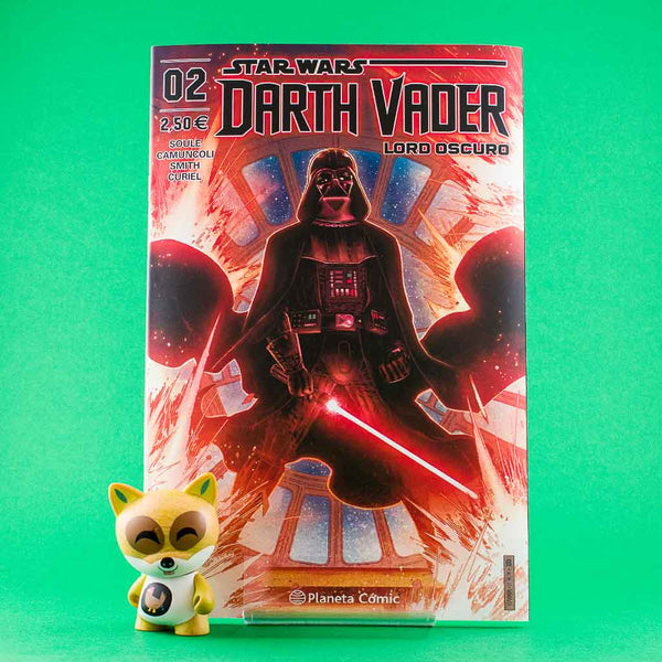 Cómic Star Wars Darth Vader Lord Oscuro 2 de PLANETA | Wash Cómics