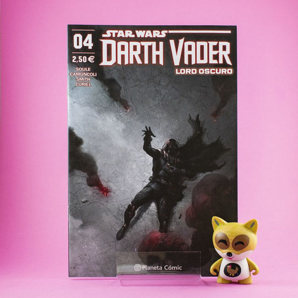 Cómic Star Wars Darth Vader Lord Oscuro 4 de PLANETA | Wash Cómics