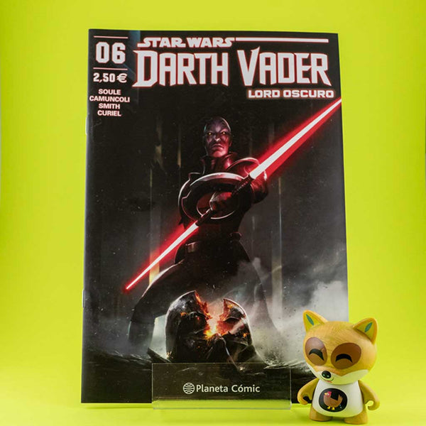 Cómic Star Wars Darth Vader Lord Oscuro 6 de PLANETA | Wash Cómics