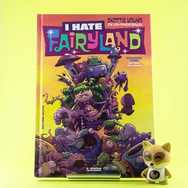 Cómic I Hate FairyLand 2. De mal en peor de SD DISTRIBUCIONES | Wash Cómics