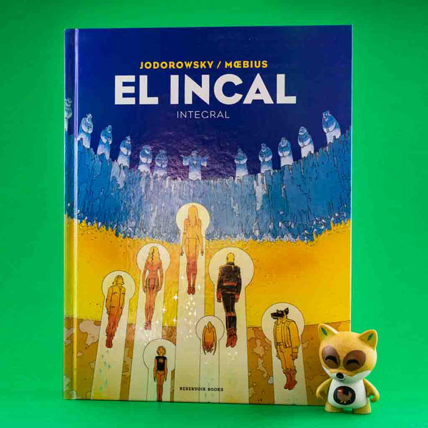 Cómic El Incal de AZETA DISTRIBUCIONES | Wash Cómics
