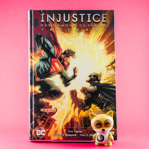 Cómic Injustice: Año uno (Integral) de ECC | Wash Cómics