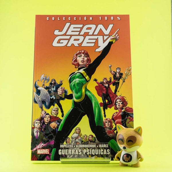 Cómic Jean Grey Vol. 2 | Guerras Psíquicas de SD DISTRIBUCIONES | Wash Cómics