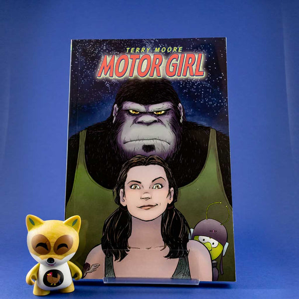 Cómic Motor Girl de NORMA | Wash Cómics