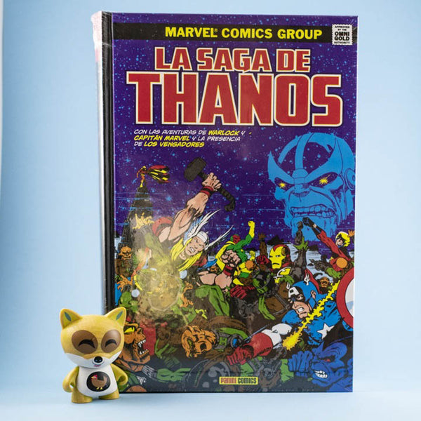 Cómic La Saga de Thanos de SD DISTRIBUCIONES | Wash Cómics