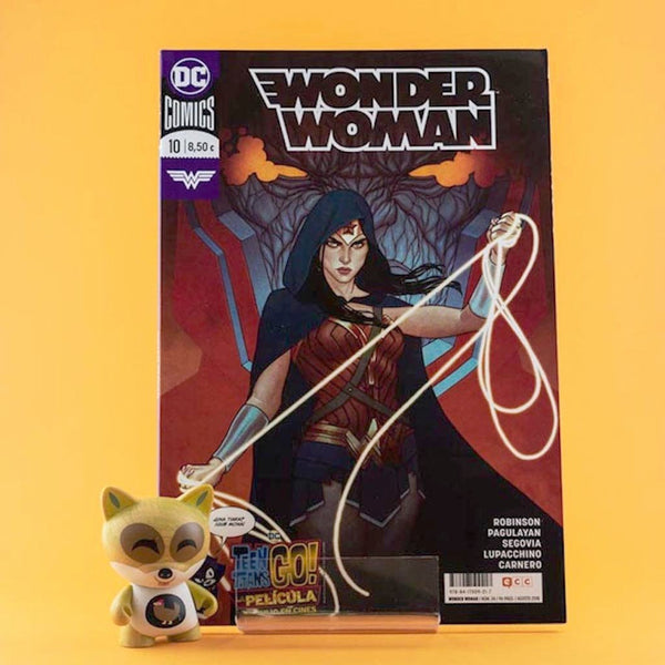 Cómic Wonder Woman 23/ 10 (Renacimiento) de ECC | Wash Cómics