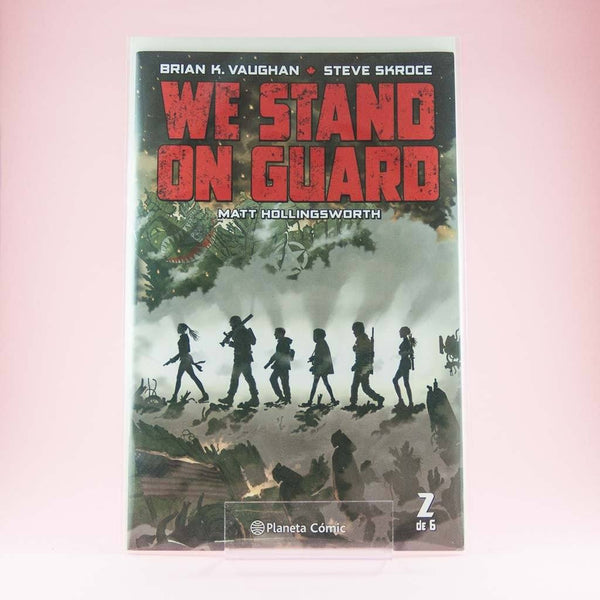 Cómic We Stand On Guard 2 de PLANETA | Wash Cómics