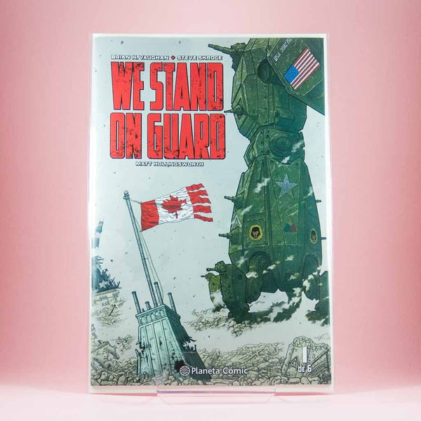 We Stand On Guard | Colección Completa | Americano | Wash Cómics