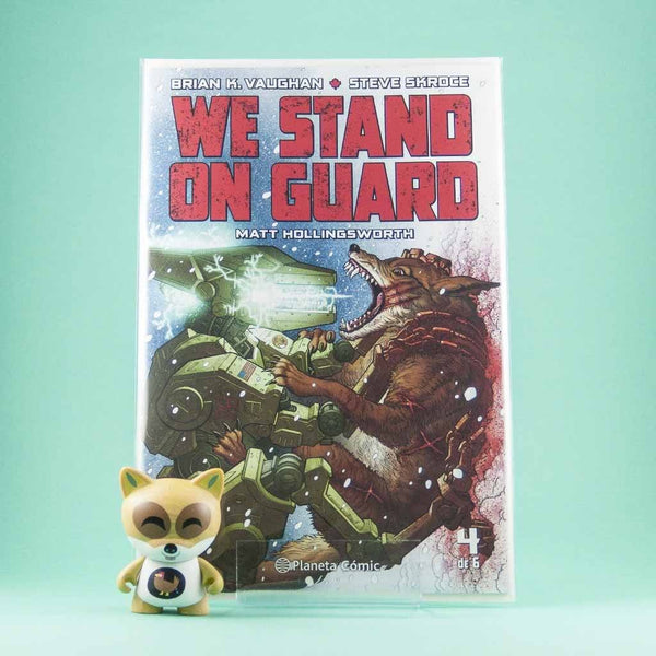 Cómic We Stand On Guard 4 de PLANETA | Wash Cómics